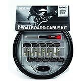 D'Addario DIY Solderless Pedalboard  Kit, 10 feet, 10 plugs