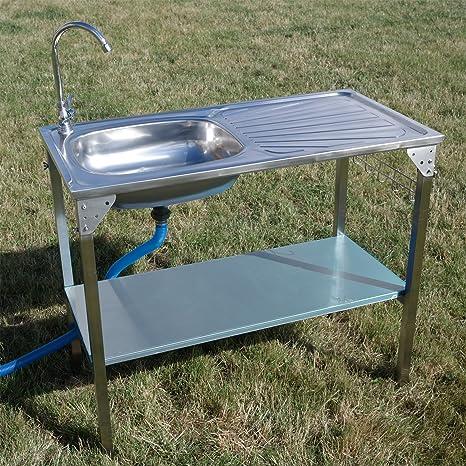 Unidad de Fregadero de Cocina camping al aire libre portátil ...