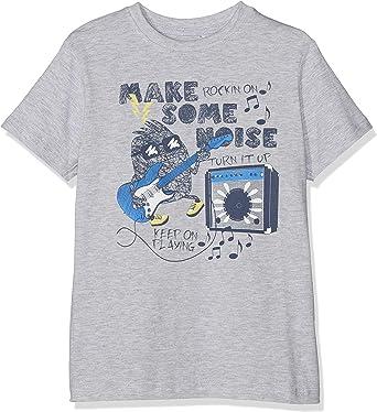 Rundhals Bambina Blue Seven T-Shirt