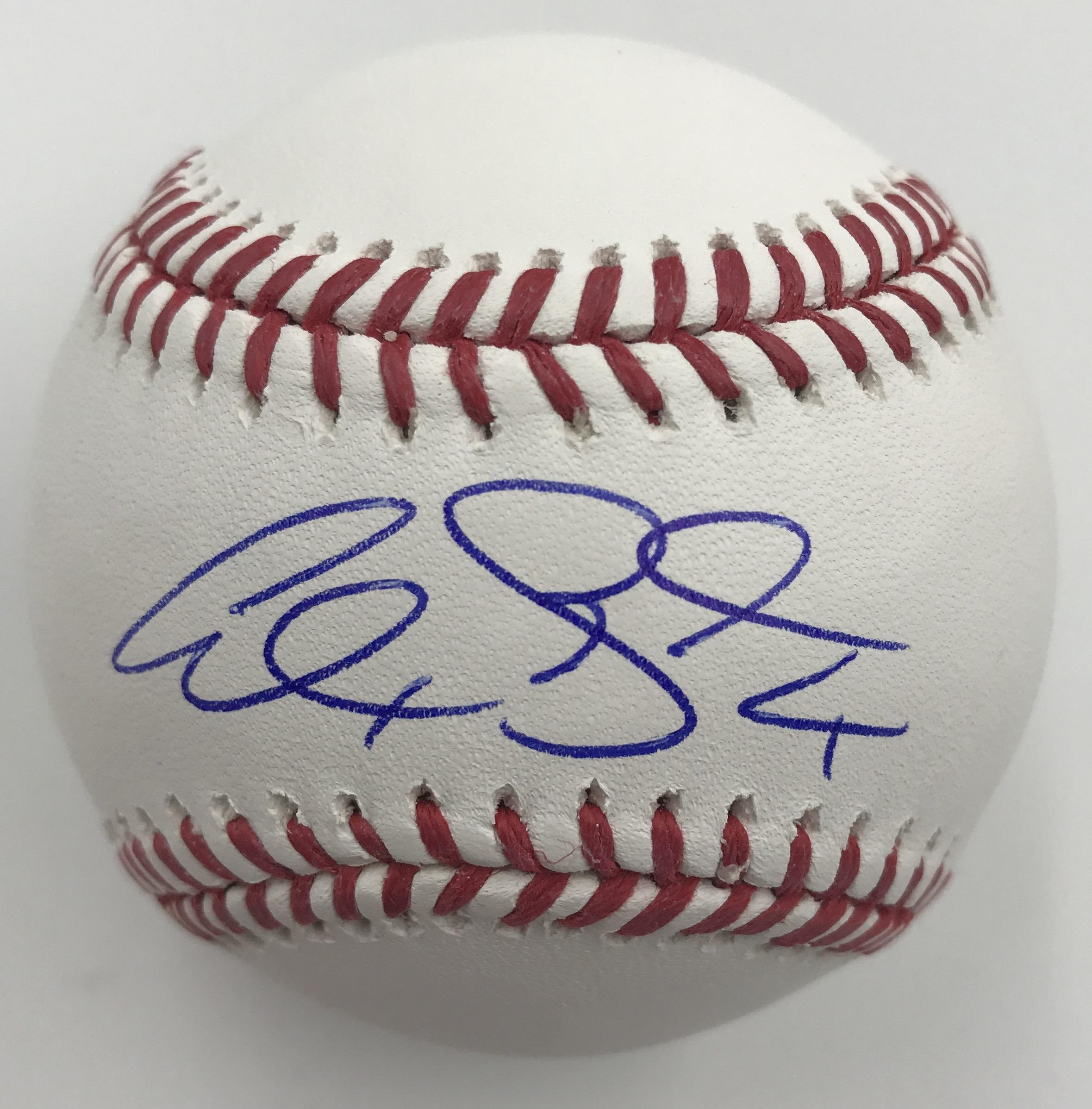 Alex Gordon Autographed Baseball Autographed Baseballs