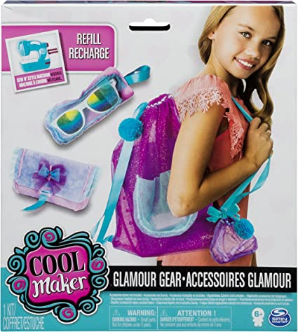 Cool Makers Project Kit Glamour Gear Customize Project Gems Yarn Ribbon Playbook