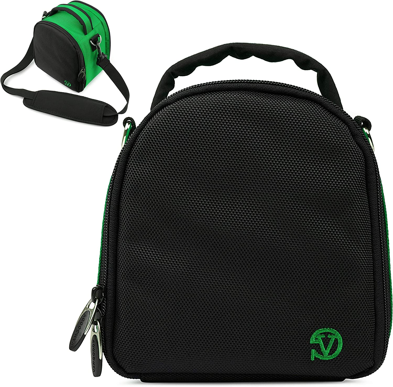 VanGoddy Laurel Forest Green Carrying Case Bag for Canon VIXA Series Camcorders