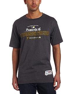 3bfc4281bf5 Amazon.com   Majestic Pittsburgh Pirates MLB 1887 Opening Series ...