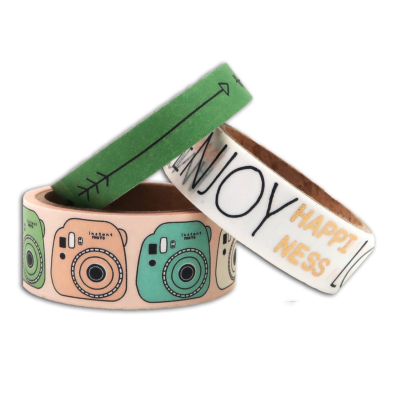 Toga Masking Tapes, Autre, Multicolore, 6.7 x 8.5 x 4.7 cm MTY002 Toga Masking Tapes