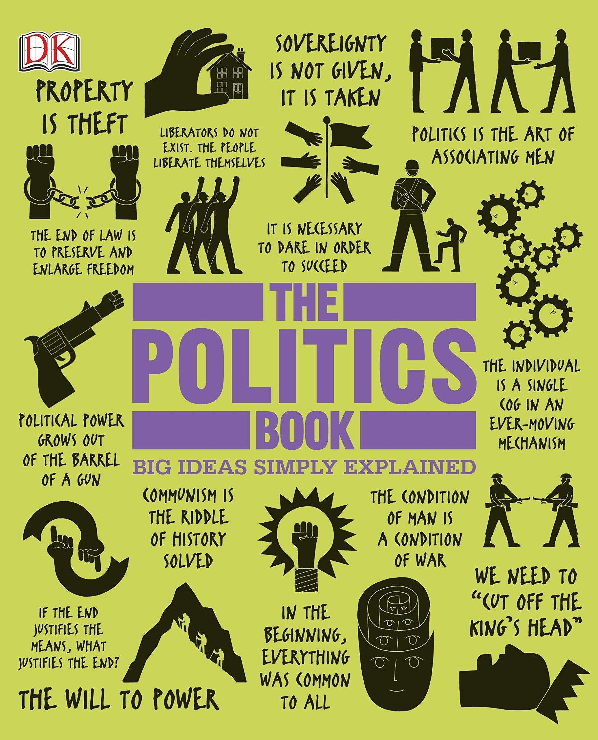 The Politics Book Big Ideas Simply Explained Dk 9781465402141 Books