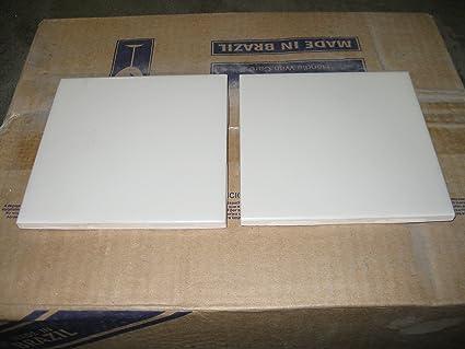 Matte OffWhite Bone X Ceramic Field Tile Off White Wall Tile - 4x4 matte white ceramic tile