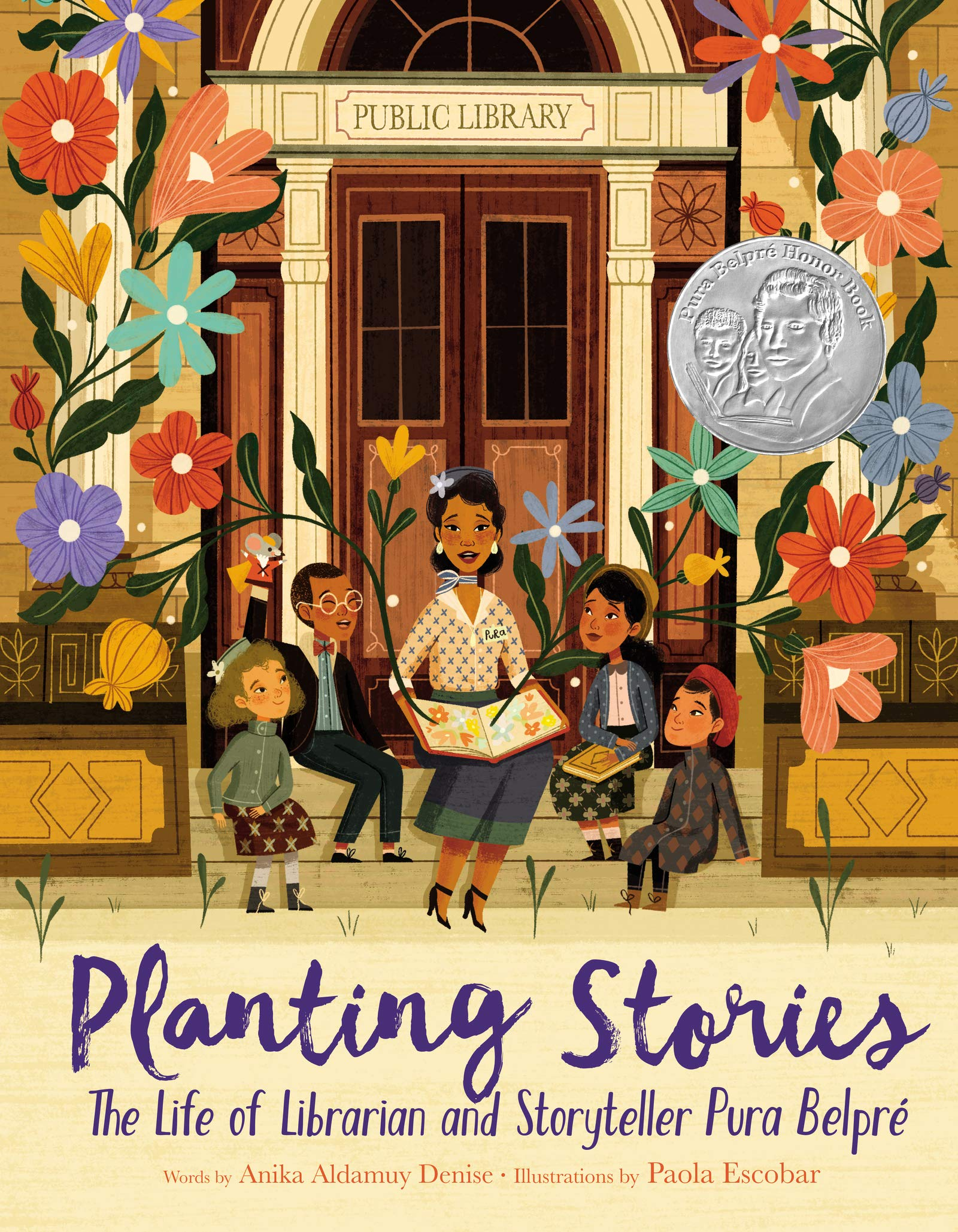 The Life of Librarian and Storyteller Pura Belpré_Picture Book Biographies