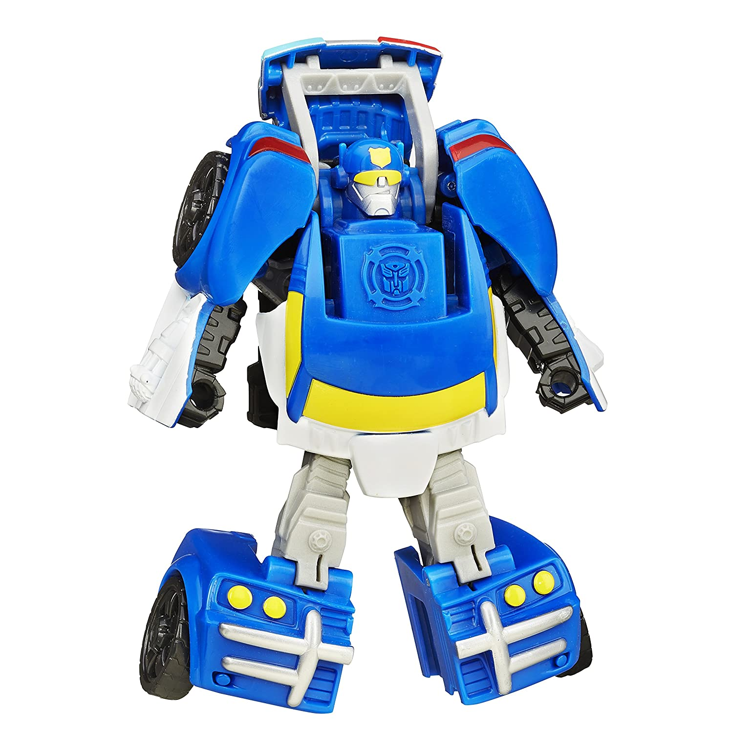 Playskool Heroes Transformers Rescue Bots Rescan Chase The Police Bot Action Figure Hasbro B3487AS0