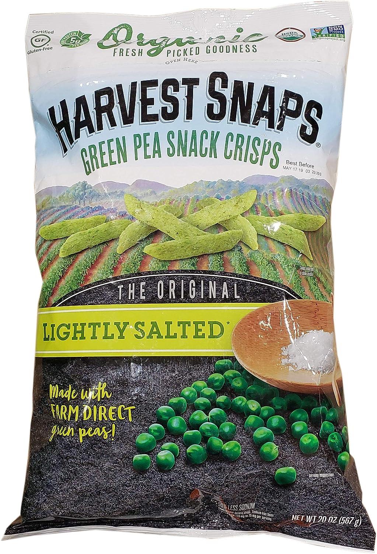 Harvest Snaps Organic Calbee Lightly Salted Snapeas, 20 Oz