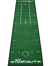 PuttOut Pro Golf Putting Mat - Perfect Your Putting (Length 240cm x Width 50cm)