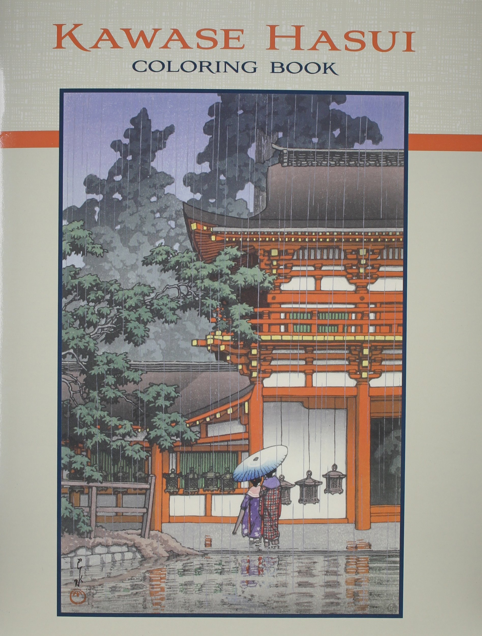 Download Kawase Hasui Coloring Book PDF