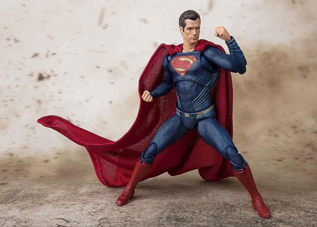 Tamashii Nations Bandai S.H. Figuarts Superman Justice League Action Figure