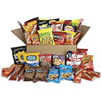40 Count Ultimate Snack Care Package, Variety Assortment of Chips, Cookies, Crackers & More (Favorites Mix)