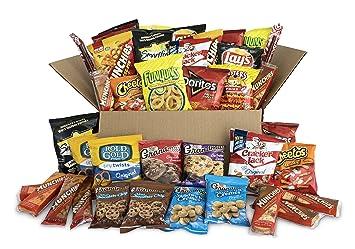 A box of snacks