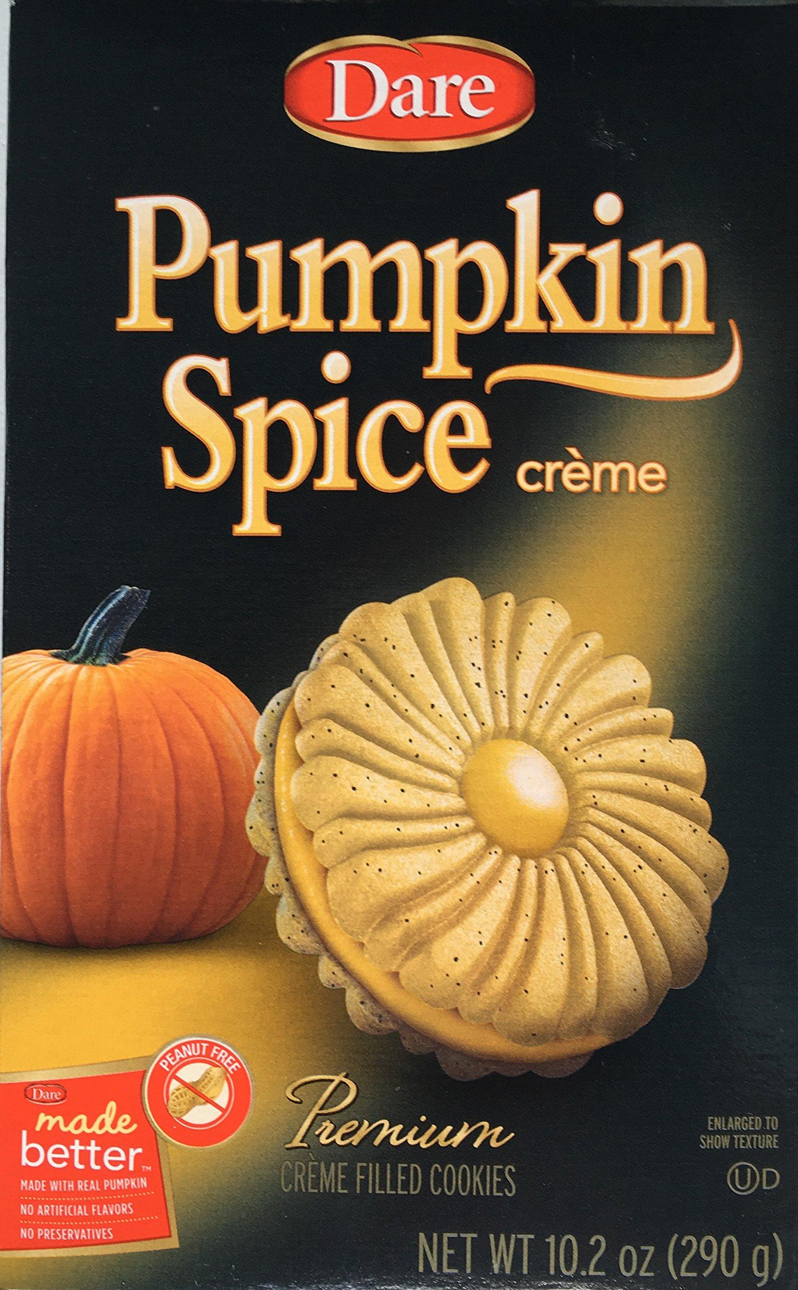 Dare Cookie Pumpkin Spice Creme, 10.19 oz by Dare