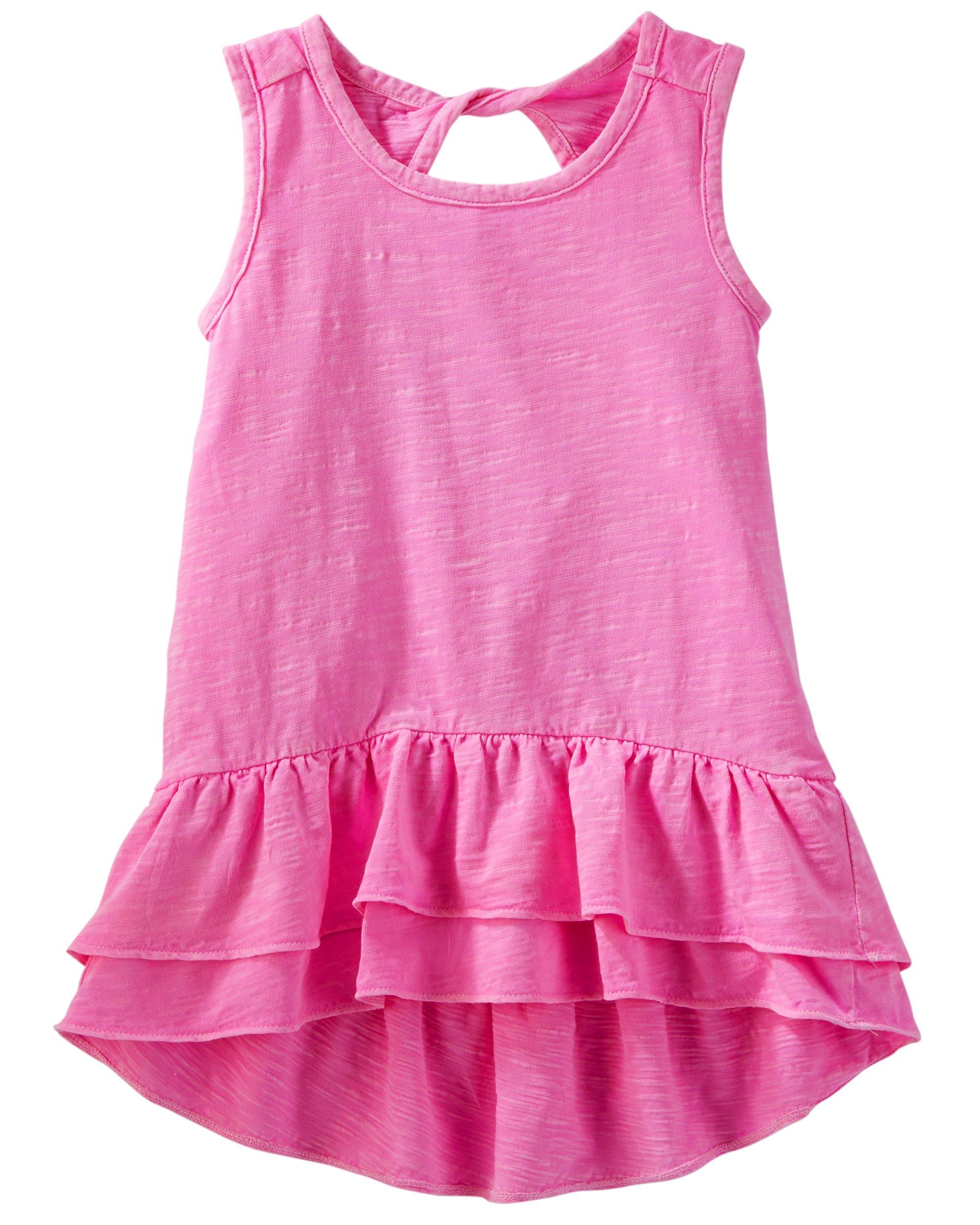 Osh Kosh Girls' Kids Short-Sleeve Knit
