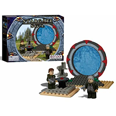 Best-Lock - Stargate SG-1 Best-Lock jeu de construction Jack & Daniel Off Wo: Toys & Games