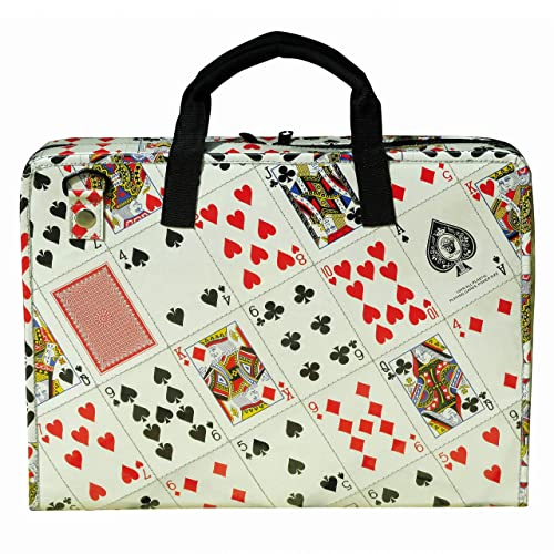 4a6452fede63 Amazon.com: LAPTOP briefcase made from playing cards, FREE SHIPPING ...