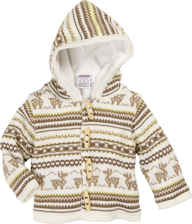 Schnizler Baby Knitting Janker Deer Warm Padded Cardigan 850103