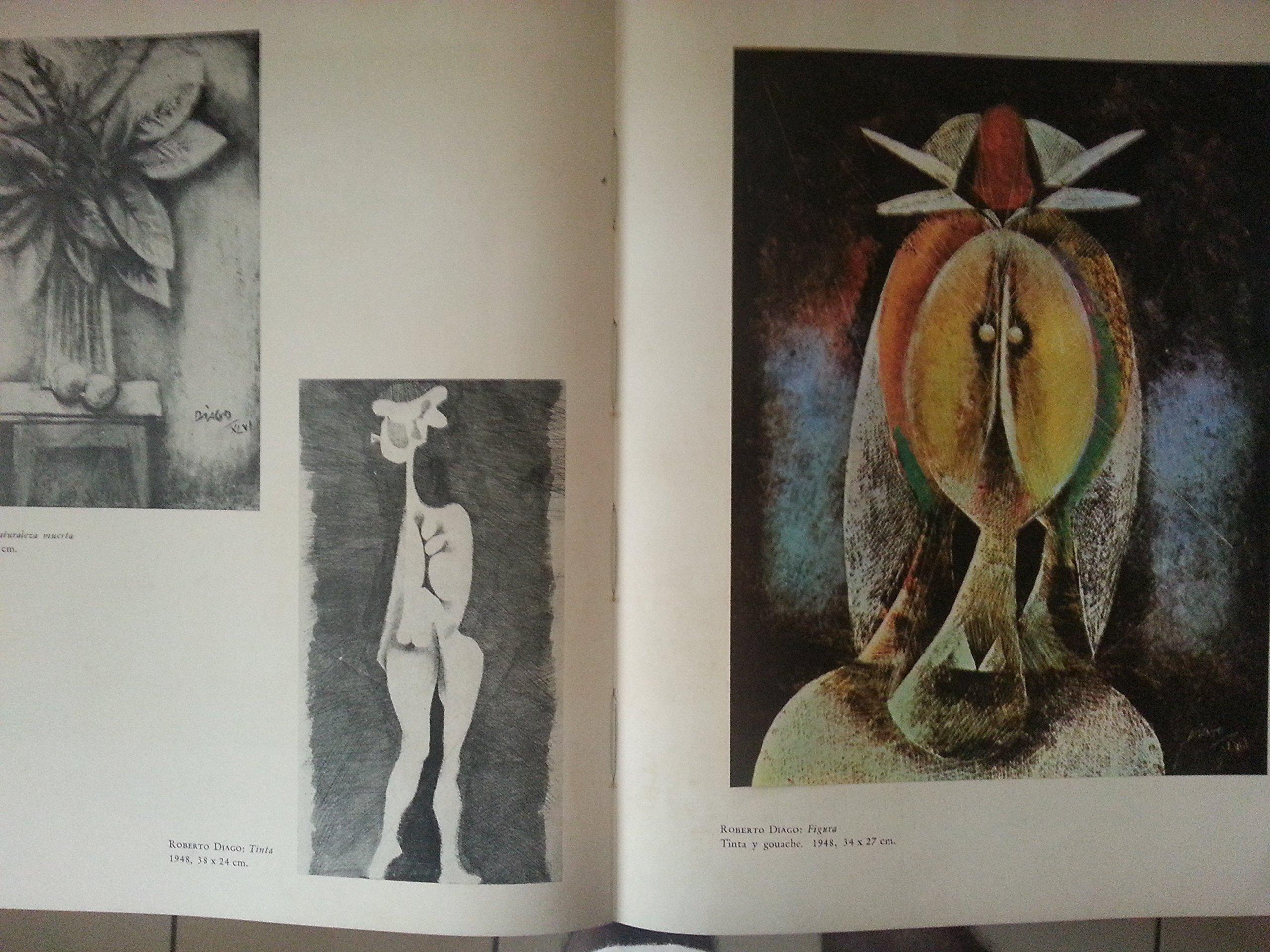 Pintores cubanos.1962.primera edicion, lam, portocarrero, carreno, mariano, amelia pelaez, pogolotti, servando cabrera moreno, abela, victor manuel, ...