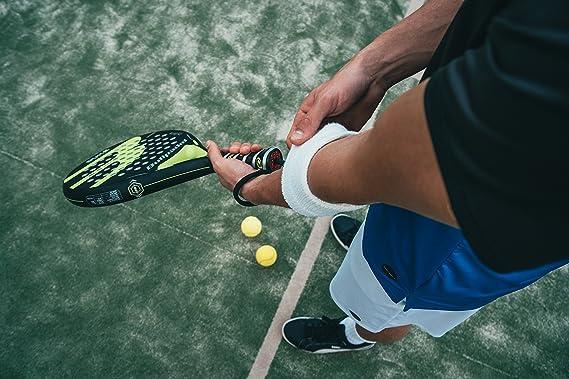 Vibraband - Amortiguador de vibración de Tenis (Pack de 3) - Absorbe los Golpes de Racquetball & Squash Rackets: Amazon.es: Deportes y aire libre