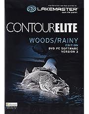 Humminbird 6000281  Contour Elite Mapping Software - Woods/Rainy