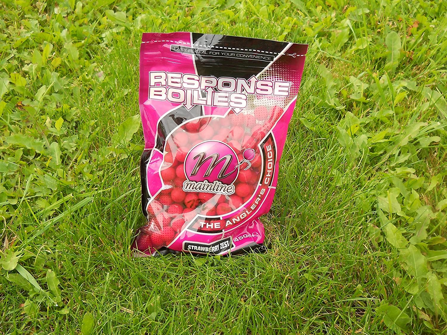 Mainline response Boilies 15mm 450g STRAWBERRY ZEST