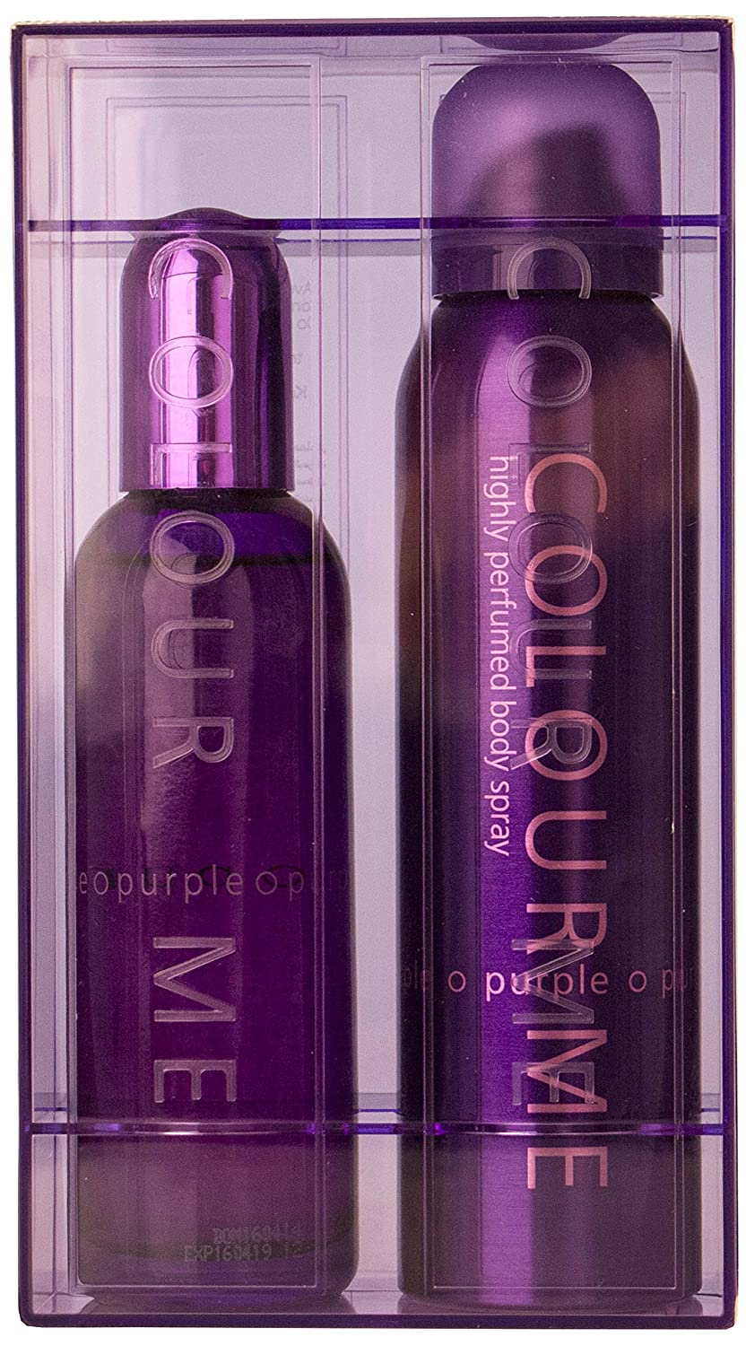 Milton Lloyd Colour Me Purple, set regalo con profumo, 100/150 ml Milton-Lloyd Limited 01W5CFL