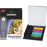Tuschestift PITT artist pen B 12× (Polychrom mit Manga-Block)