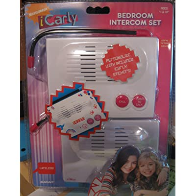 iCarly Wireless 2way Bedroom Intercom Set: Toys & Games