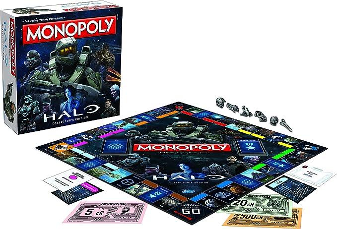 Halo Monopoly Board Game: Amazon.es: Libros en idiomas extranjeros