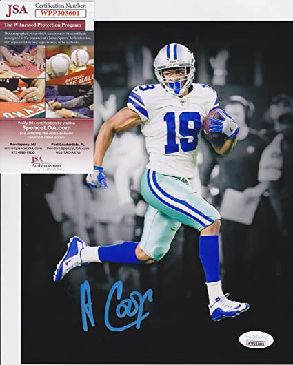 Image Unavailable. Image not available for. Color  AMARI COOPER  19 Signed DALLAS  COWBOYS ... 04ccae7ef