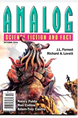 Analog Science Fiction and Fact, October 2016 Single Issue Magazine