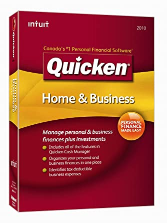 Quicken Home and Business 2010 [Old Version]: Amazon ca
