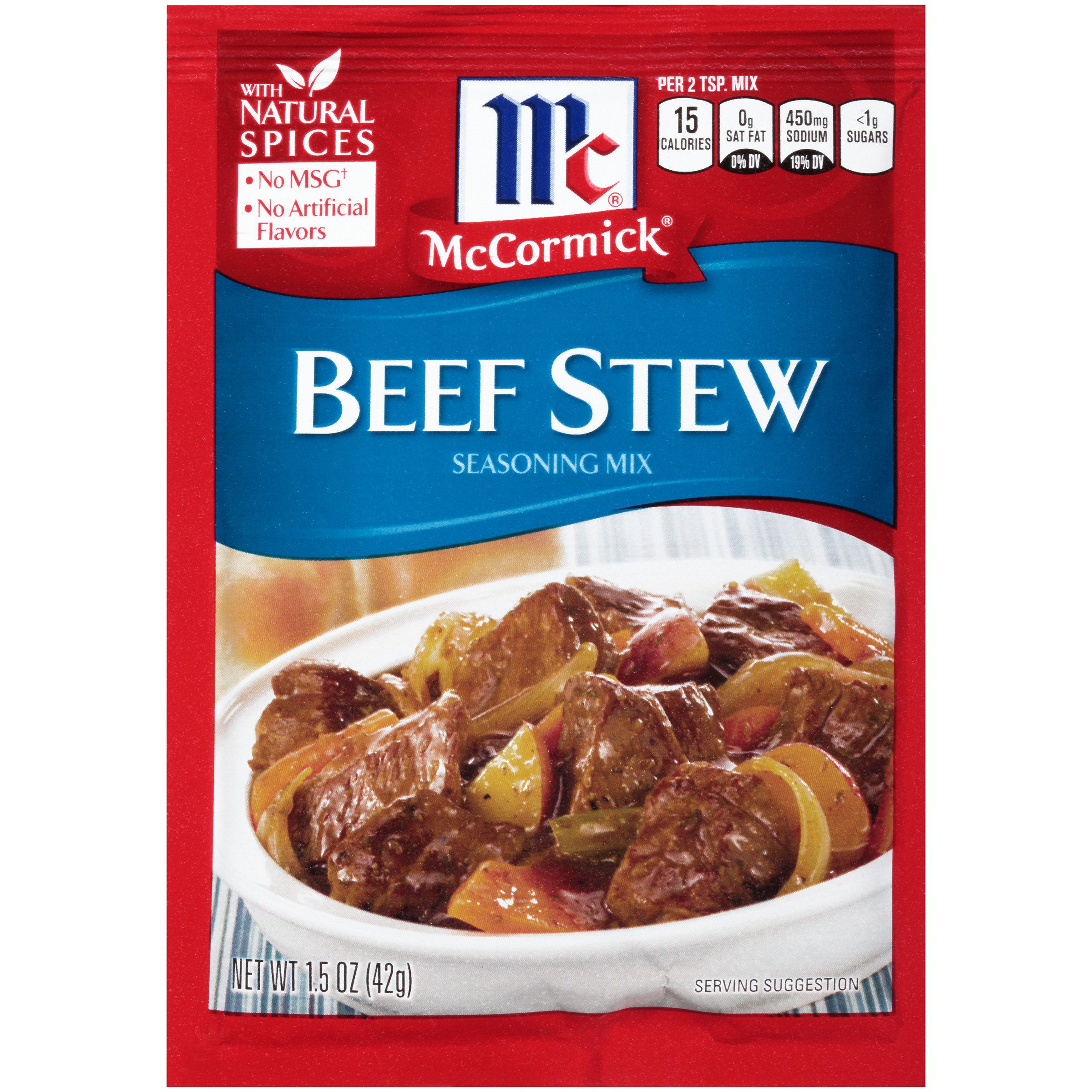 McCormick Beef Stew Seasoning Mix, 1.5 oz