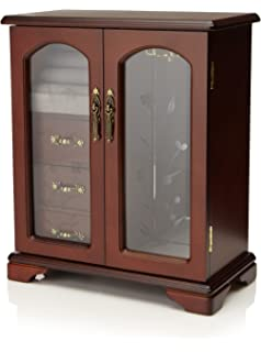Superbe Nathan Direct Cabby Dual Case Jewelry Box With 3 Drawers, Ring Holders, And  Necklace