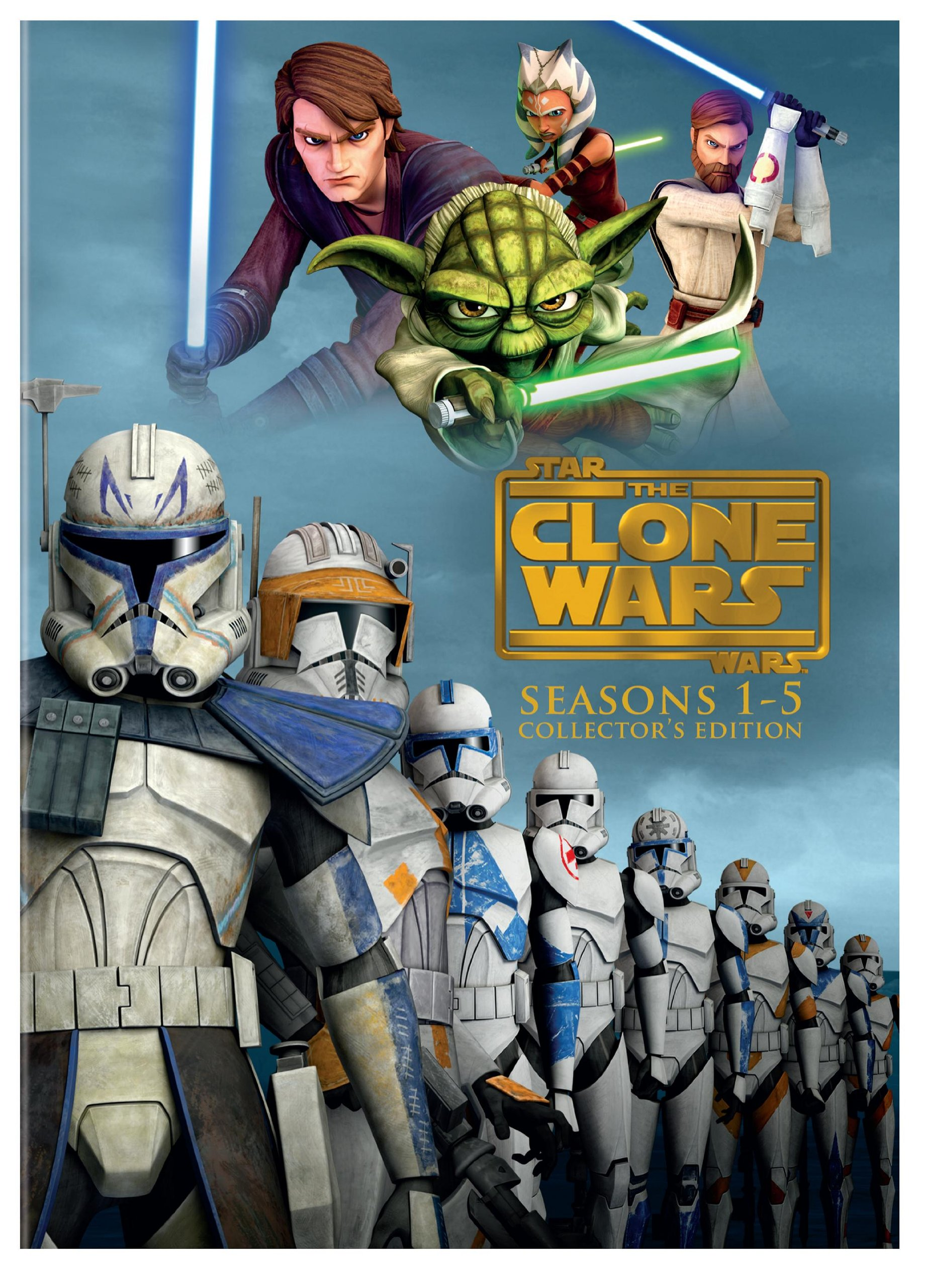 Star Wars: The Clone Wars - Seasons 1-5 by Warner Manufacturing