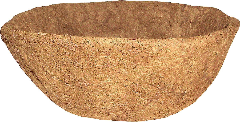 Gardener Select Basket Shape Coco Liner, 16-Inch