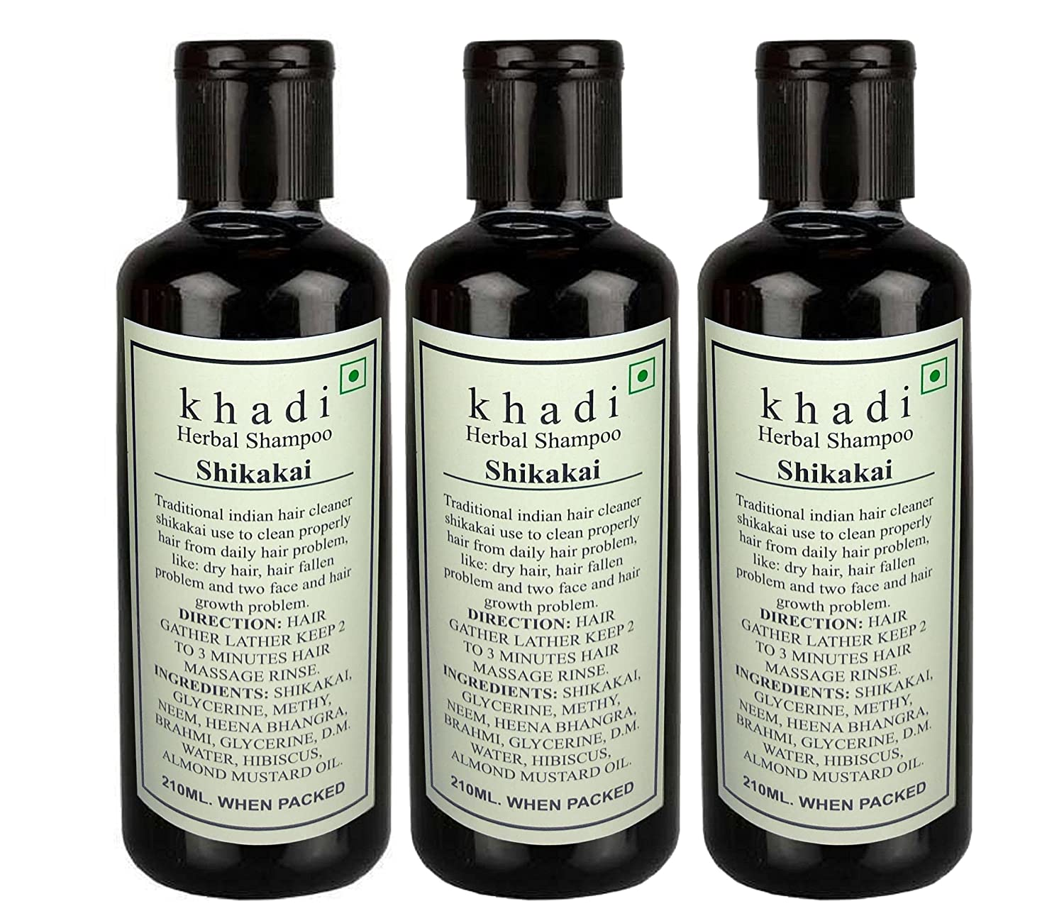 Khadi herbal shikakai shampoo