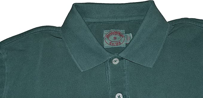 Brook Brothers - Polo - para Hombre Verde Small: Amazon.es: Ropa y ...
