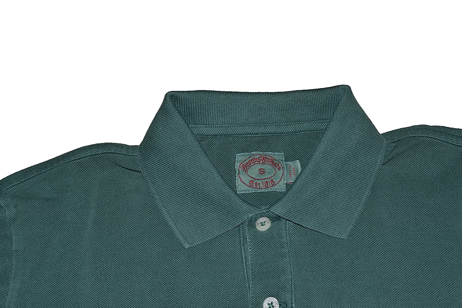 Brook Brothers - Polo - para Hombre Verde Large: Amazon.es: Ropa y ...