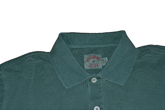 Brook Brothers - Polo - para Hombre Verde Large: Amazon.es: Ropa y ...