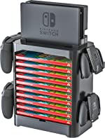 Skywin Game Storage Tower for Nintendo Switch - Game Disk Rack