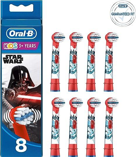 Oral-B KIDS BAMBINI ELETTRICO Spazzolino da denti, per bambini dai 3 anni, nel Star Wars