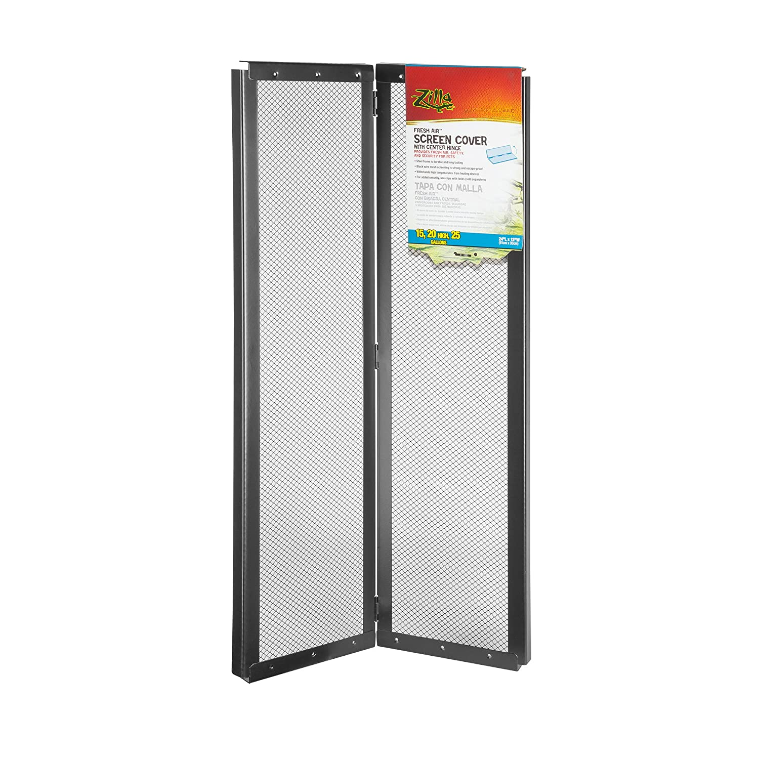 Zilla Fresh Air Screen Cover with Hinge