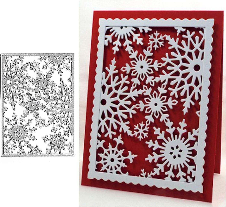 Christmas Snowflake Metal Cutting Dies Stencil Scrapbooking DIY Paper Album Card