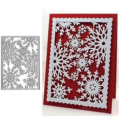 Christmas-Snowflake Metal Cutting Dies Stencil Scrapbooking DIY Album Stamp Card