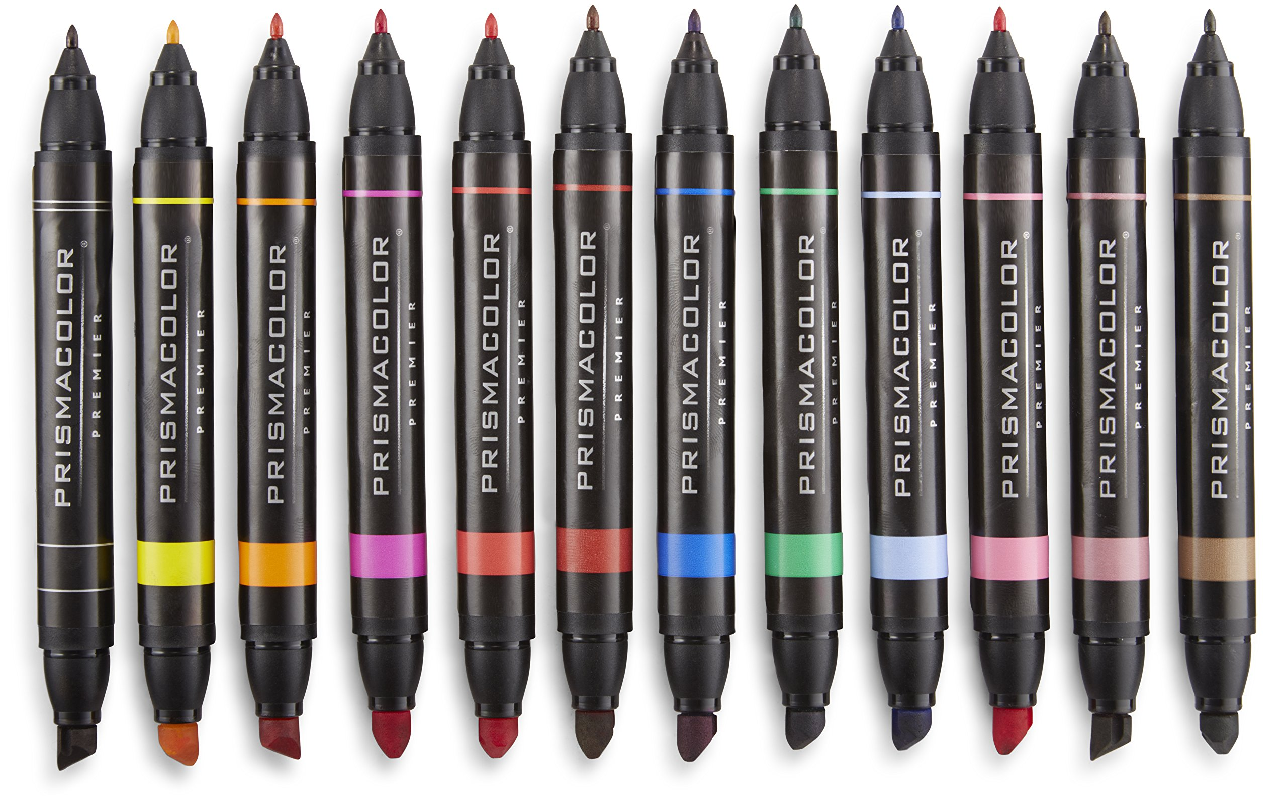 Prismacolor Premier Double-Ended Art Markers, Fine and Chisel Tip, 48-Count by Prismacolor (Image #3)