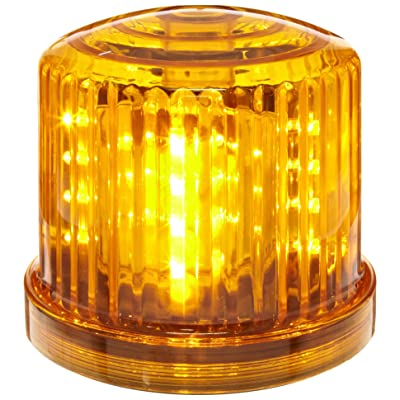 Fortune Products PL-300AJ Battery Powered Ultra Bright Amber LED Safety & Emergency Beacon Light w/Magnetic Bottom: Industrial & Scientific