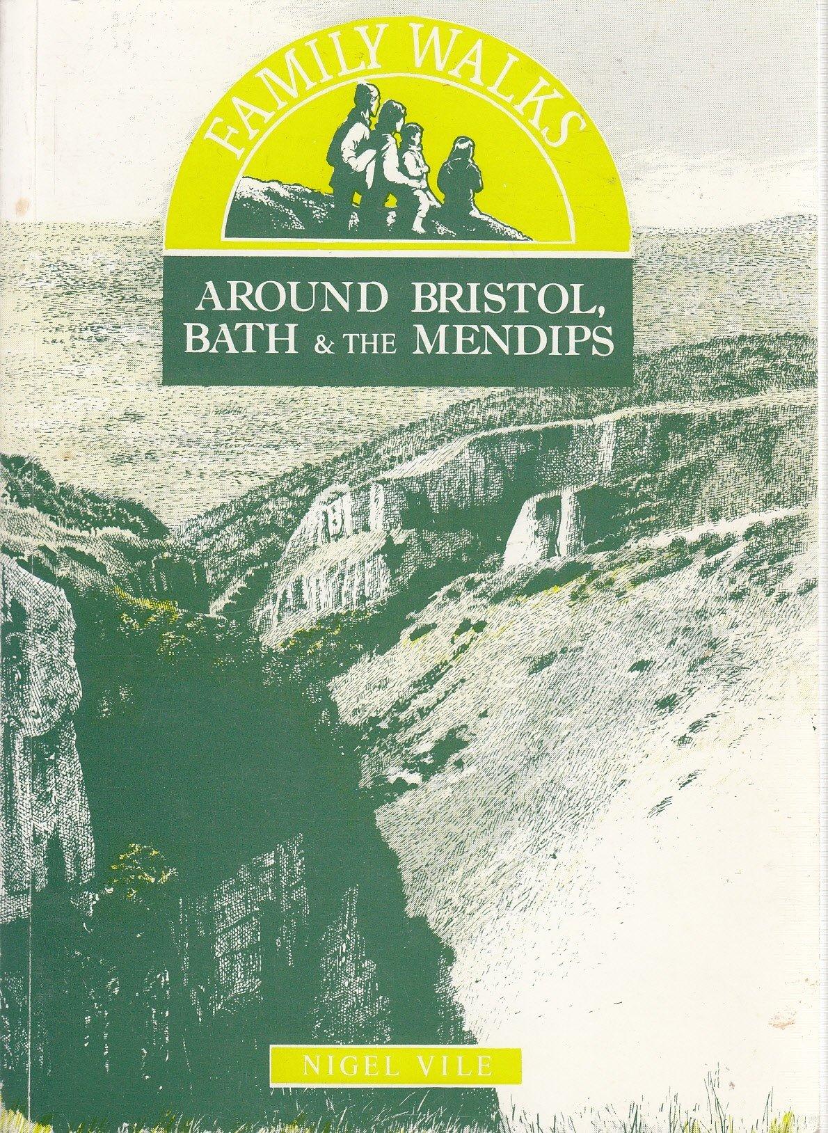 walkers map bristol bath the mendips